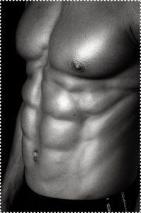 男性の身体